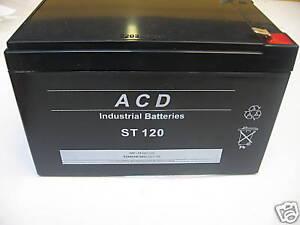 Batterie Neuve Plomb Etanche 12v 13.2ah Gamme Prof. Art De La Broderie Traditionnelle Exquise