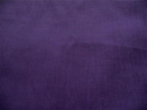 Tela Polycotton Medio Púrpura sombra de FQ /'s