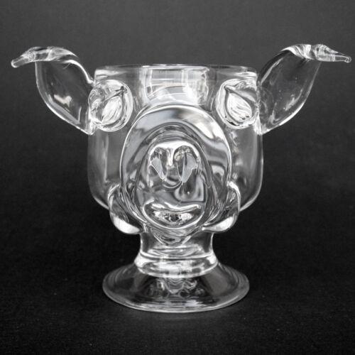 Pig Coffee Mug Hand Blown Crystal Wine Glass