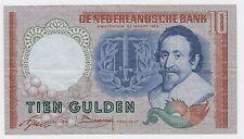 Netherlands banknotes - 10 Gulden 1953, TIEN GULDEN, DE NEDERLANDSCHE BANK !