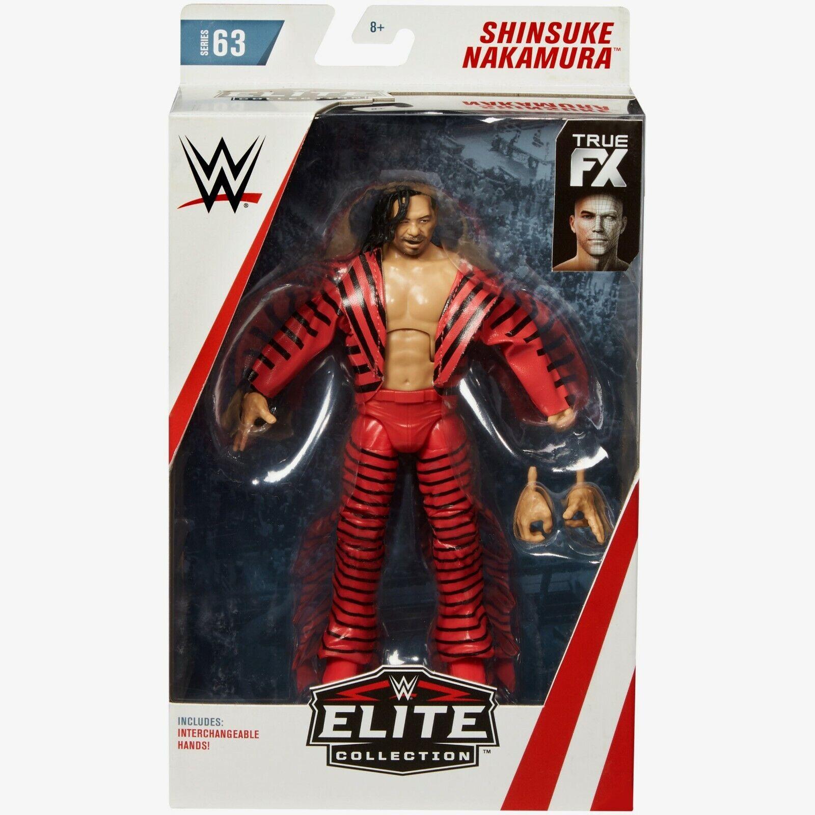 WWE Elite Collection Series 63 - Shinsuke Nakamura Figure BRAND NEW