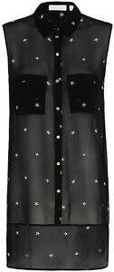 SASS-amp-BIDE-034-PRESS-THE-BUTTON-034-SHIRT-in-Black-RRP-390-size-8