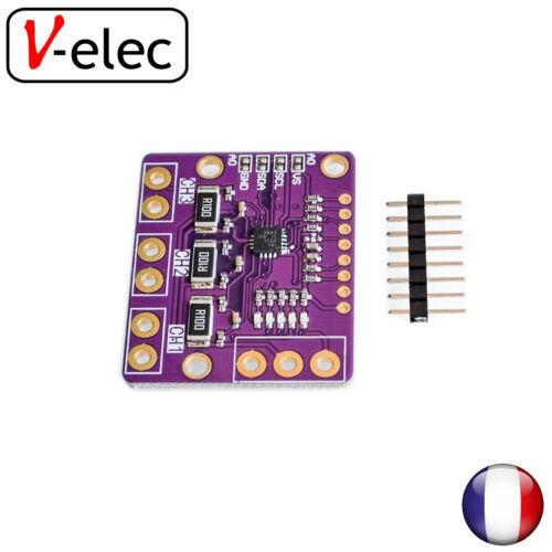1396# I2C INA3221 Triple-Channel Shunt Current Voltage Monitor Sensor Re INA219