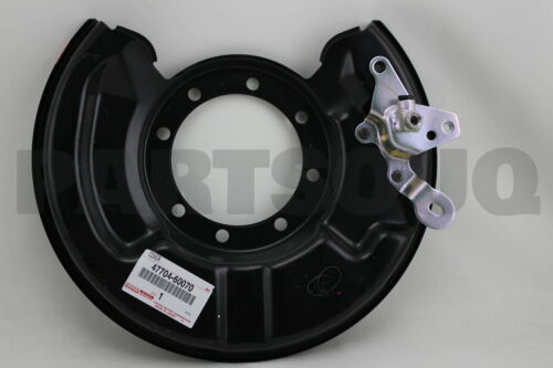 FRONT LH 47704-60070 4770460070 Genuine Toyota COVER SUB-ASSY DISC BRAKE DUST