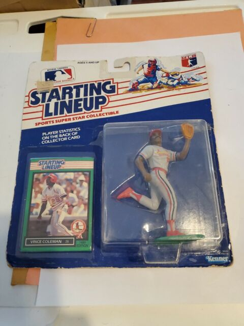 1989 Starting Lineup MLB - Vince Coleman - St. Louis Cardinals - New Sealed