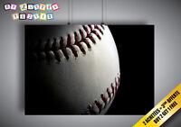 Poster Baseball Macro Sport Classic