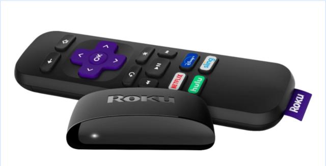 Roku - Express (2019 Model) Streaming Media Player - Black - Set 2 PCS
