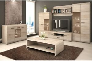 Living-room-furniture-set-cabinet-cupboard-shelf-Tv-unit-stand-display-sonoma