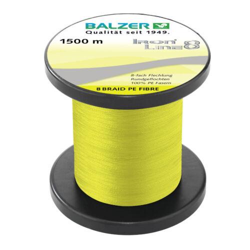 BALZER IRON LINE 8fach NEU 0,21MM 15,4KG TRAGKRAFT GRUNDPREIS 11,97 EUR//100M