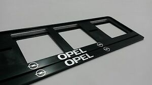2X-OPEL-NEUF-EXCLUSIF-SUPPORT-DE-PLAQUE-D-039-IMMATRICULATION-EUROPEA