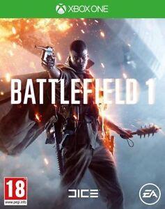 BATTLEFIELD-1-Xbox-One-Microsoft-Xbox-One-Excellent-1st-Classe-Livraison
