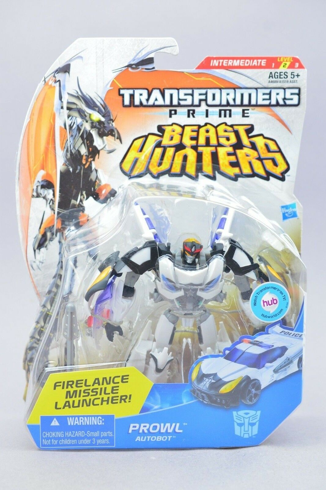 Transformers Beast Hunters Prowl Deluxe MOSC New
