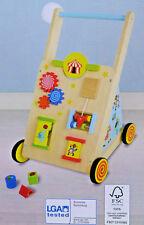 Lauflernwagen mit einstellbarer Bremse Laufwagen Walker Motorikspielzeug / NEU!