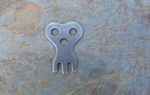 Antique / Vintage Flat Steel Bank  Key Only