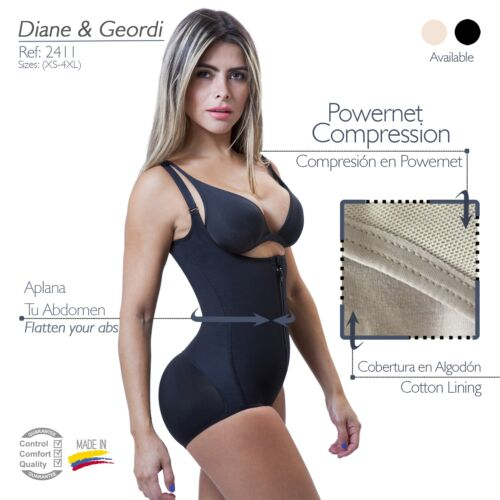 Post Partum Woman/'s Girdle Fajas Colombianas Diane Poitieri 2411 Post Lipo