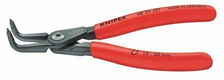 "KNIPEX 48 21 J01 5-1//4/"" Precision internal Circlip Pliers Plastic Grip"
