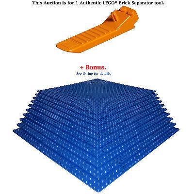 """1 Authentic LEGO Separator Plus Bonus 10 Blue 10/"""" x 10/"""" compatible base plates"""
