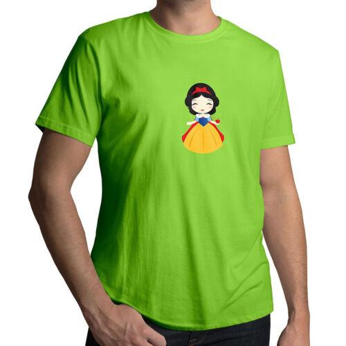Disney Princess Snow White and the Seven Dwarfs Mens Women Unisex Tee T-Shirt