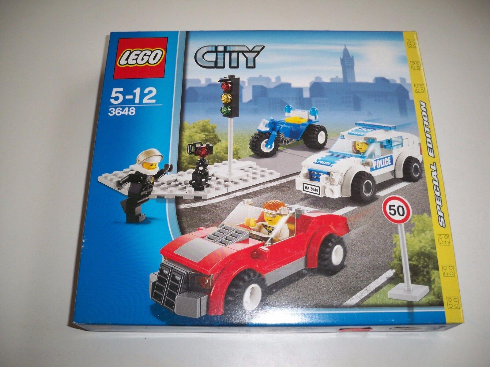 LEGO LEGO LEGO City, 3648, police COURSE POURSUITE fa47b3