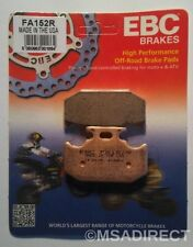 "Yamaha XTZ 250 (2007 to 2009) EBC ""R"" Sintered REAR Brake Pads (FA152R) 1 Set"