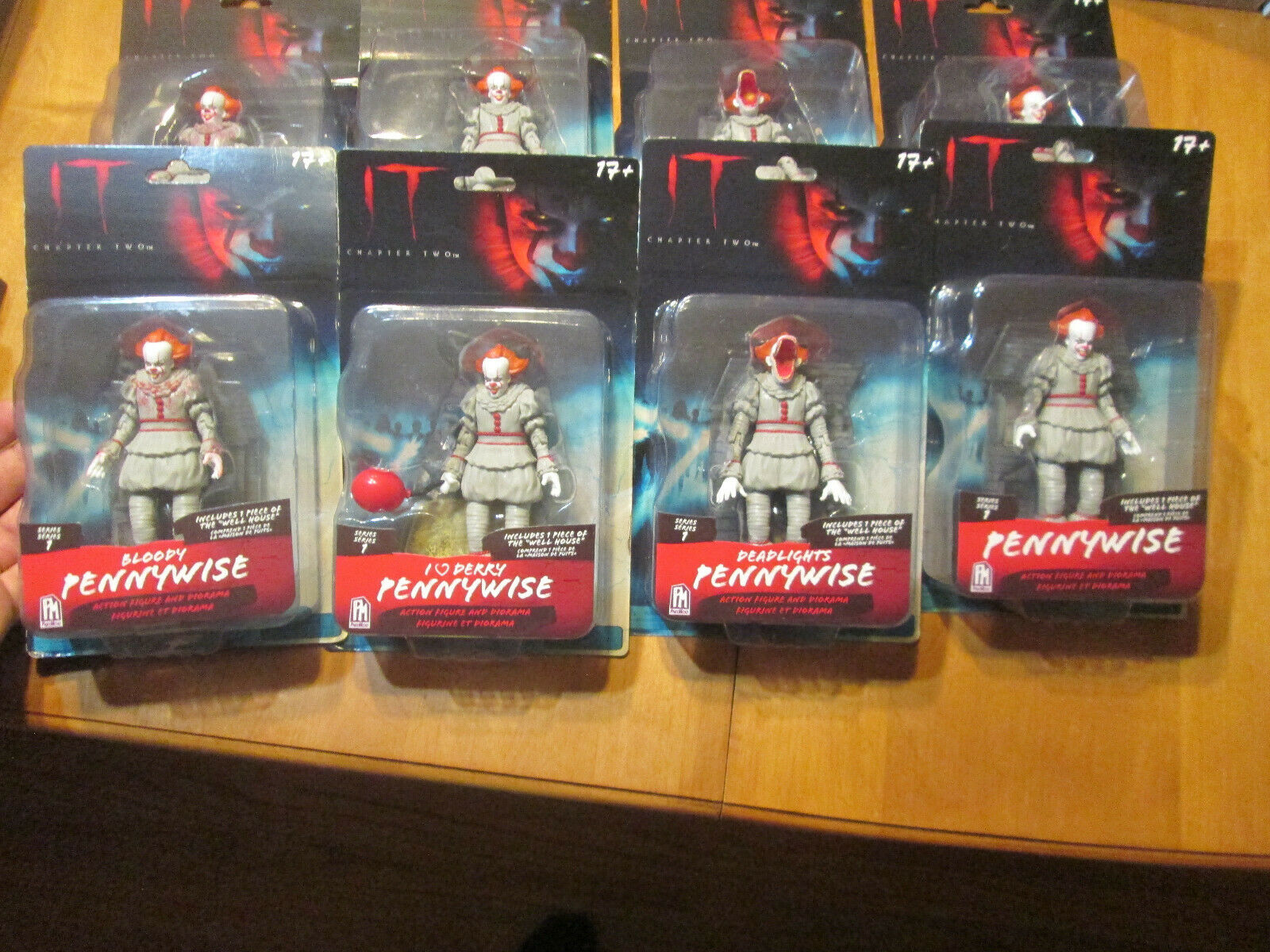 IT CHAPTER TWO SERIES 1 PENNYWISE FIGURE DIORAMA PhatMojo COMPLETE COLLECTION