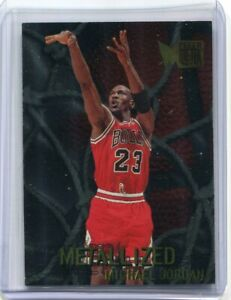 1996-Fleer-Metal-Metalized-Foil-Michael-Jordan-128-MINT-Bulls-PSA-10-9