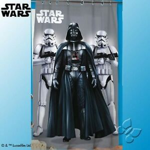 new disney star wars darth vader storm troopers curtain. Black Bedroom Furniture Sets. Home Design Ideas