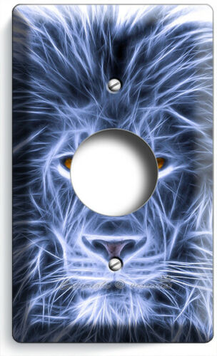 BEAUTIFUL AFRICAN LION ANIMAL KING LIGHT SWITCH OUTLET WALL PLATE ROOM ART DECOR