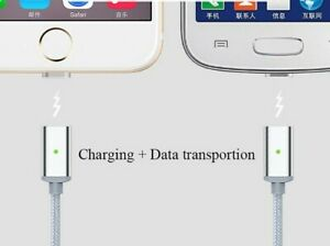 Magnetic-Non-Magnetic-Braided-Micro-USB-Charging-Data-Cable-For-Samsung-S7-S6-S5