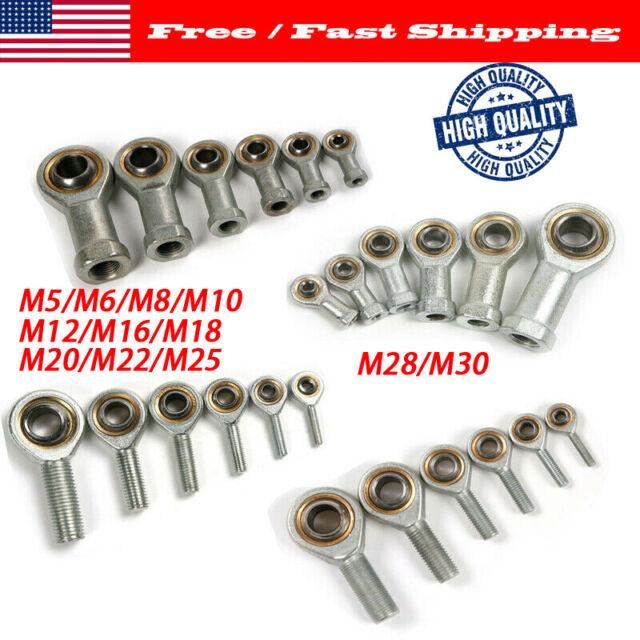 4pcs SI8 T//K PHSA8 right hand female thread metric rod end joint bearing