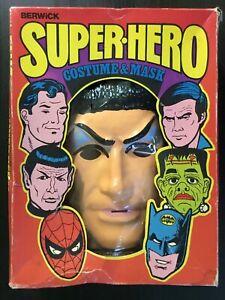 RARE 1976 Star Trek Mr Spock UK ISSUE Halloween Costume Berwick not Ben Cooper