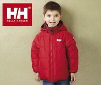 BNWT NEW BOYS HELLY HANSEN REVERSIBLE PADDED COAT 2, 3, & 4 YRS RED BLACK JACKET