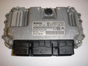 Peugeot 206 ECU 0261208901 9661383980 | eBay