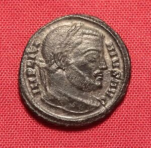 Coins: Ancient Ancient Roman Silvered Bronze Licinius Ae3 Coin Fine Quality Roman: Imperial (27 Bc-476 Ad)