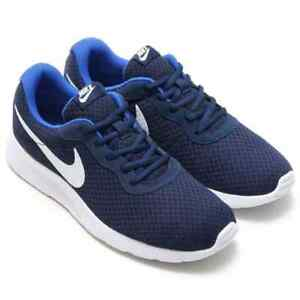 e5922b8d5e5 Image is loading Mens-Nike-Tanjun-Running-Trainer-Shoes-Midnight-Navy-