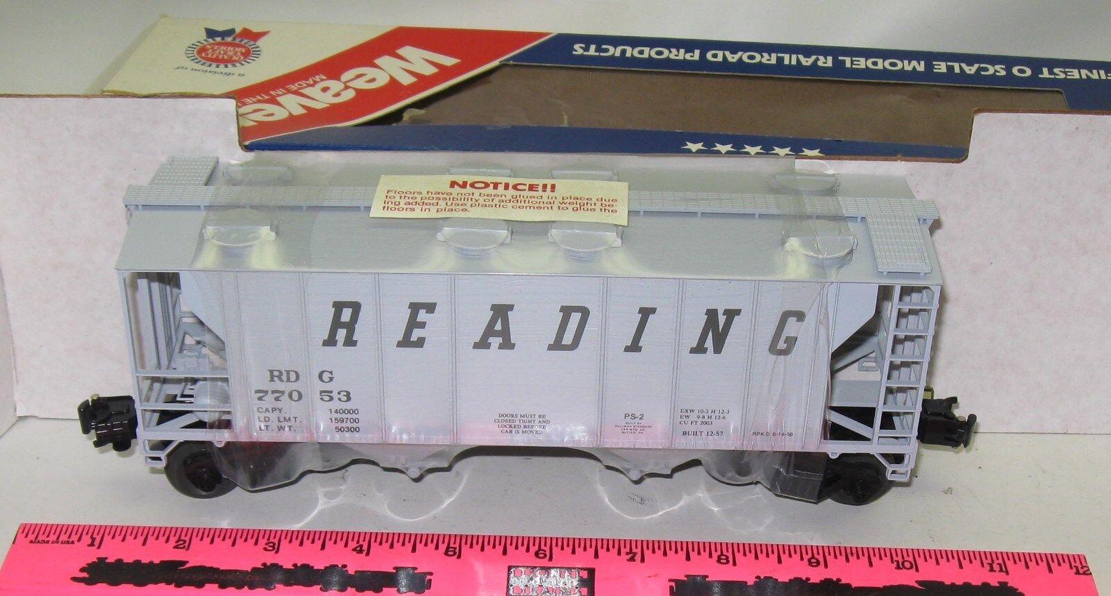 Weaver Ultra Line Road Reading covered hopper