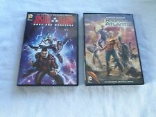 Justice League: Throne of Atlantis  &  Gods and Monsters -  (2 DVD'S) - ANIMATED