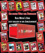 RUSS MEYER - JUBILÄUMSBOX Lorna BLACK SNAKE Vixen SUPERHEXEN 18 DVD Box Edition