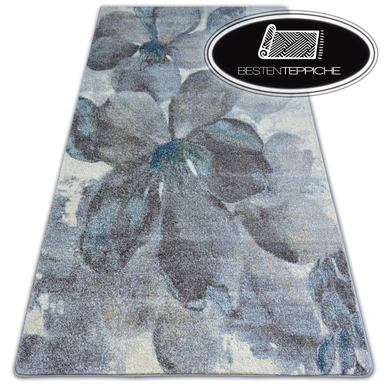 8 dimensioni Moderno Tappeto Morbido Nordic fiori grigio Marroneee piacevolmente alla moda