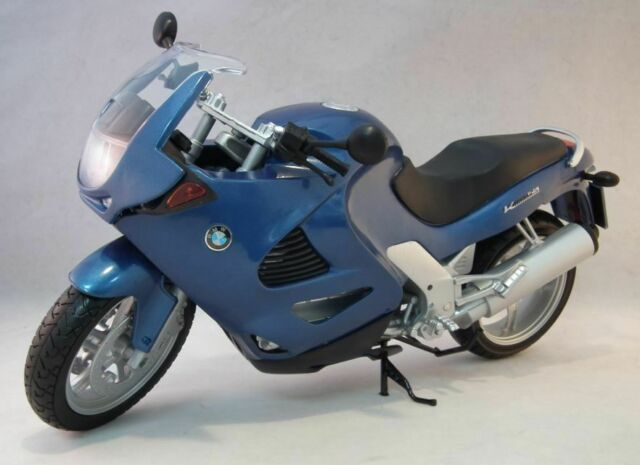 black seat 1:6th scale MOTOR MAX 76251 BMW K1200RS model road bike blue body