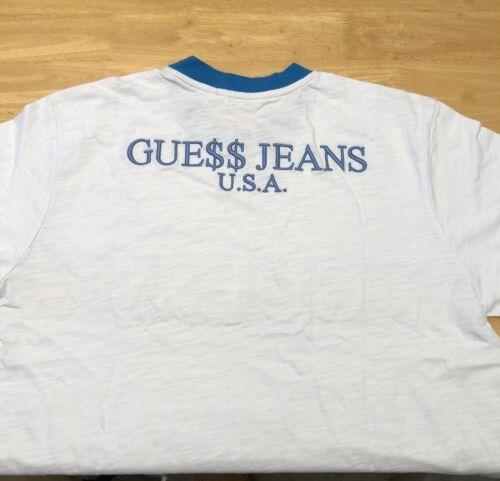 ASAP Rocky x GUESS Ringer Blue T-Shirt Size S-XL Ships Immediately