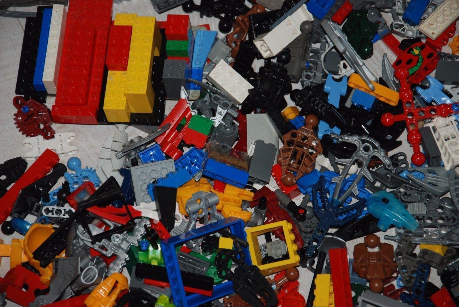 Lego Lot Pièces Mixtes Hero Factory briques Bionicle Créateur Alien 5 kg