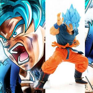 New-DBZ-Dragon-Ball-Z-Super-Saiyan-God-Son-Goku-Blue-hair-Ver-Figure-21cm-NoBox