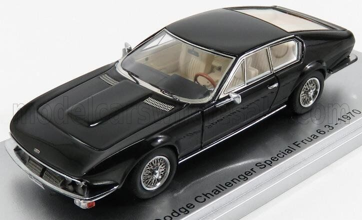 Wonderful KESS-modelcar DODGE CHALLENGER FRUA SPECIAL COUPE 1970 - 1 43