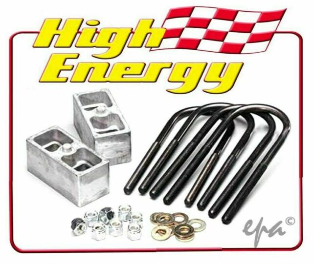 "HIGH ENERGY 2"" LOWERING BLOCKS HOLDEN HD HR HK HT HG UTE PANEL VAN HELB15-2"