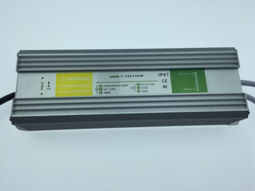 150W LED Trafo Netzteil Transformator f Stripe Streifen DC12V Wasserdicht 30W