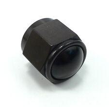 PRE-60829BLK -8 AN Male Flare Cap Block Off Fitting Black Aluminum Anodized