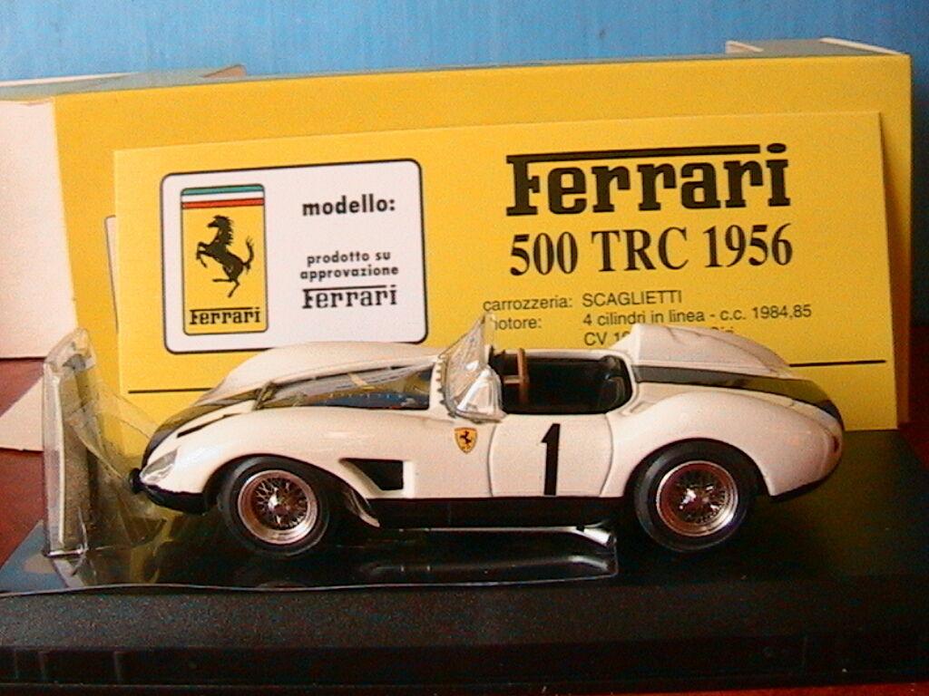 FERRARI 500 TRC  1 GP DI SVEZIA 1957 BATISTA FALLA ARTMODEL ART043 1 43 blanc