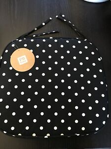 New Pottery Barn Teen Solid Swivel Chair Cushion Polka Dot