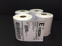 4 Rolls Zebra 2844 Zp450 Eltron 4x6 Direct Thermal Shipping Labels - 250/roll
